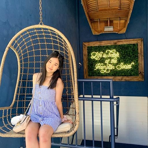 Ashley Zhang Social Media Intern